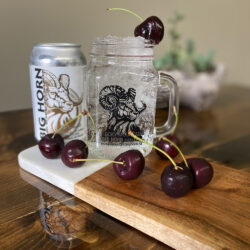 Brunette – Natural Black Cherry & Vodka Cooler
